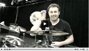 Mike Michalkow at the 2012 Regina Drum Festival