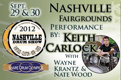 Nashville Drum Show Modern Drummer