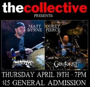 Matt Byrne/Corey Pierce Collective Clinic on April 19