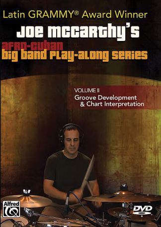 Joe Mccarthy's Afro-Cuban Big Band Play-Along Series, Volume II