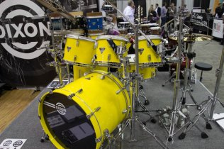 Dixon Maple Drum Kit PASIC 2013
