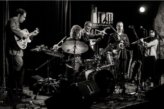 The quintet EUPHORIA Photo by Glen DiCrocco.