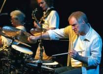 Drummer Paul Wertico by Sayre Berman