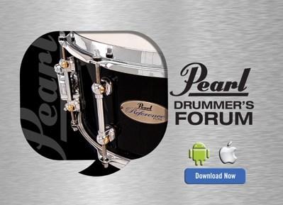 Pearl drum Forum Modern Drummer