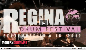 Scott Pellegrom at the 2012 Regina Drum Festival VIDEO