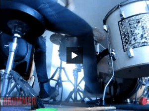 Zach Hill's Death Grips Drum Cam