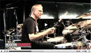 Gregg Bissonette at the 2012 Regina Drum Festival