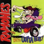 Ramones - We're Outta Here (album cover)