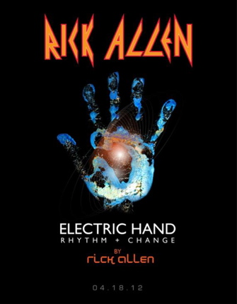 Rick Allen Electric Hand Rhythm Change Modern Drummer