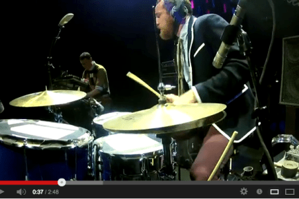 Darren King of Mutemath at Guitar Center's 2012 Drum-Off Grand Finals (Part 3)