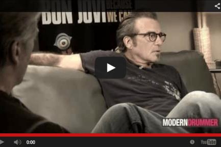 Bon Jovi's Tico Torres Visits Modern Drummer Online, Part 2