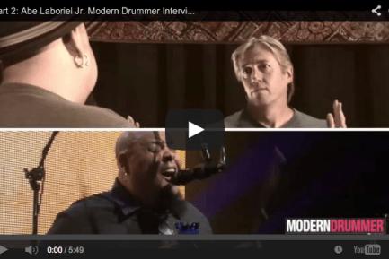 VIDEO - Part 2: Paul McCartney Drummer Abe Laboriel Jr. Interview