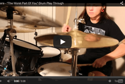 """Brittany Harrell's Play-Through of Veara's """"The Worst Part of You"""""""