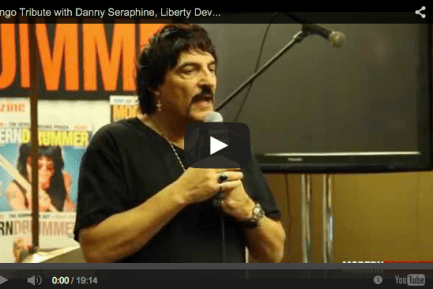 Ringo Tribute with Danny Seraphine, Liberty Devitto, and Carmine Appice Video!