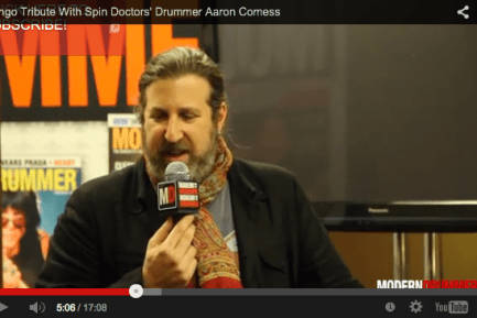 Ringo Tribute With Spin Doctors' Drummer Aaron Comess