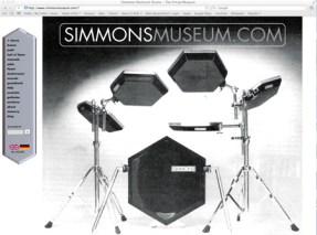 Simmons Museum Modern Drummer