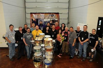 Stauffer Tribute Group Modern Drummer