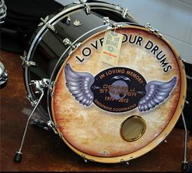 Stauffer Tribute Head Modern Drummer