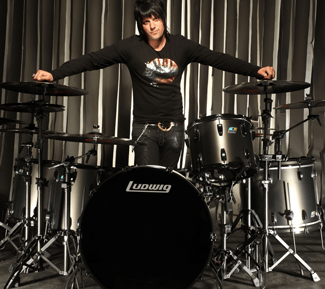 Jason Sutter of Marilyn Manson Drummer Blog