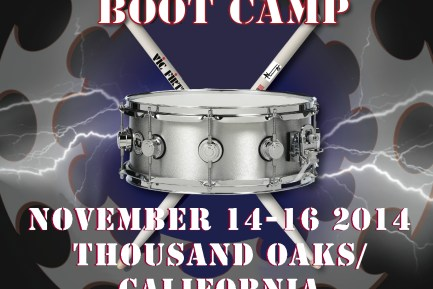 Thomas Lang Drumming Boot Camp Dates Announced!