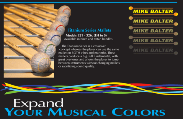 Showroom: Mike Balter Titanium Series Mallets