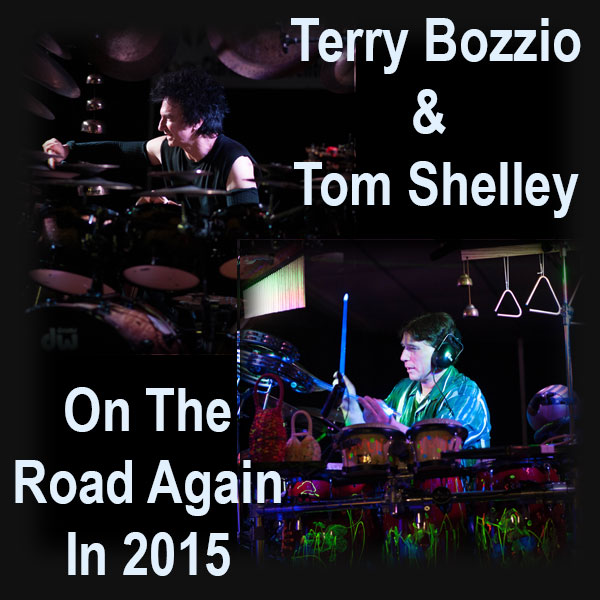 """News: Terry Bozzio and Tom Shelley Hitting the Road in 2015 With Their """"Drums and Percussion"""" Tour"""