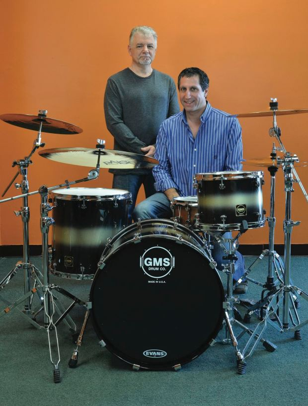 GMS founders Tony Gallino and Rob Mazzella in 2012