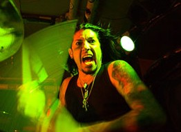 drummer Xavier Muriel of Buckcherry