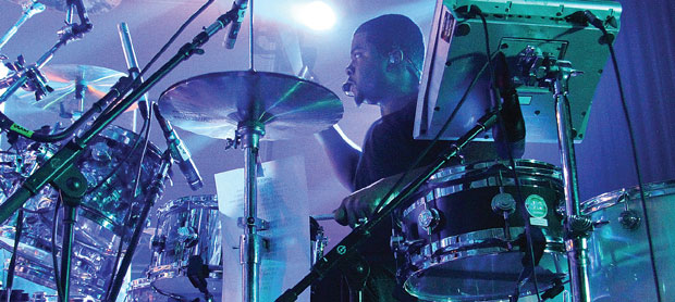 Multi-Platinum Producer Amadeus Jam Session, Q&A, and Modern Drummer Magazine Signing