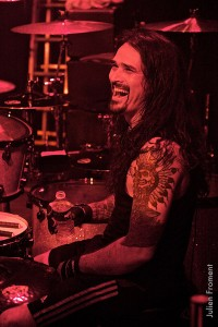 Drummer Aquiles Priester