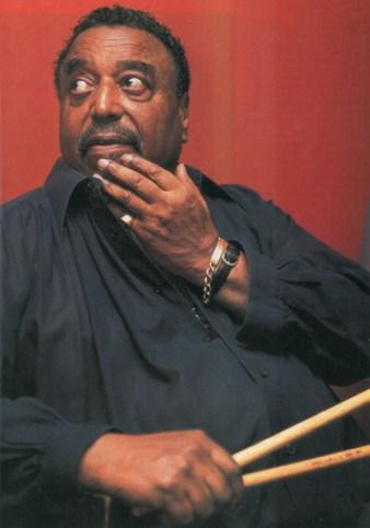 Jazz drummer Chico Hamilton By Paul La Raia