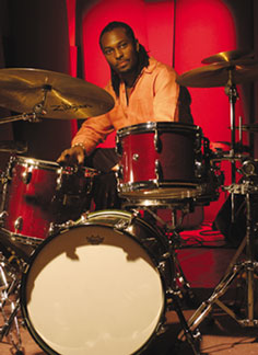 Drummer Clarence Penn