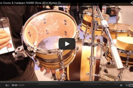 VIDEO - Dixon Drums & Hardware NAMM Show 2014 New Gear Coverage