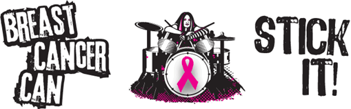 Hair Bands and Metal Drummers Stick it to Breast Cancer!