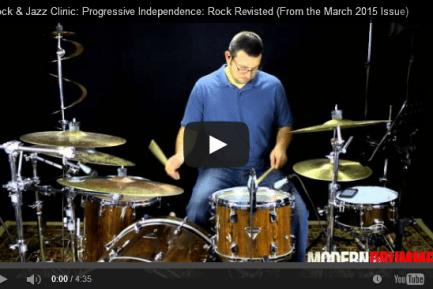Rock & Jazz Clinic: Progressive Independence: Rock Revisited (VIDEO)