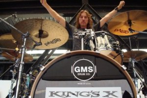 Drummer Jerry Gaskill of King's X