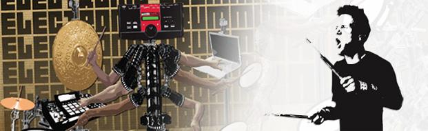 KJ Sawka: Electronic Drummer