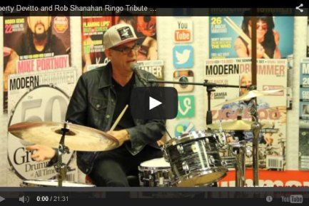 Liberty Devitto and Rob Shanahan Ringo Tribute Video (from the Fest For Beatles Fans 2014 )