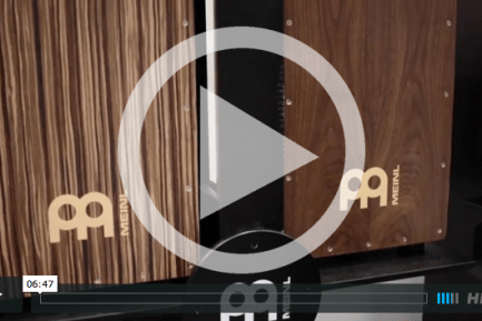 Meinl Percussion at NAMM 2015 (VIDEO)