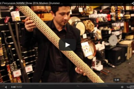 VIDEO - Meinl Percussion NAMM Show 2014 Modern Drummer Magazine New Gear Coverage