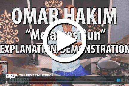 """Omar Hakim Video: """"Molasses Run"""""""