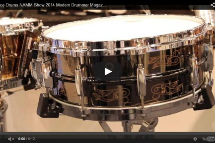 VIDEO - Peace Drums NAMM Show 2014 Modern Drummer Magazine New Gear Coverage