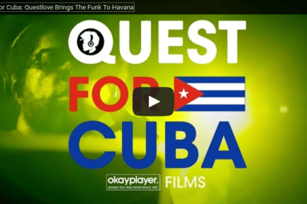 Mini-Documentary Follows Questlove as He Brings the Funk to Havana, Cuba