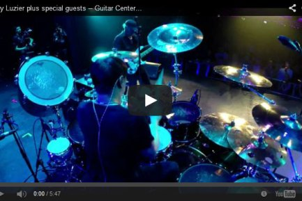 "VIDEO - Korn's Ray Luzier and Special Guests Play ""Sluggo's Revenge"" at Guitar Center's 2014 Drum-Off Finals"