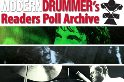 Modern Drummer's Readers Poll Archive, 1977-2014