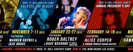 Rock N Roll Fantasy Camp Modern Drummer