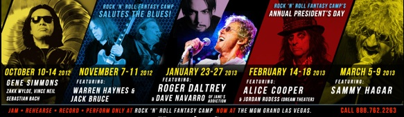 Rock N Roll Fantasy Camp Modern Drummer
