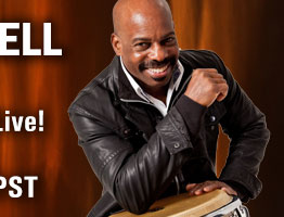 Ron Powell Conducts Free Percussion Clinic and Performance on 9/27