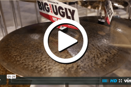 Sabian's Big Ugly Cymbals at NAMM 2015 (VIDEO)