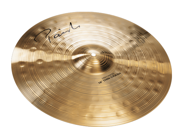 Paiste Signature Precision Thin Crash Cymbal 18